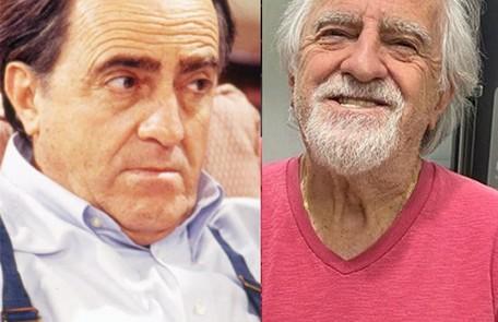 Ary Fontoura, longe da TV desde 'A dona do pedaço', foi Tibério, homem que conversava com um amigo invisível Globo e Reprodução