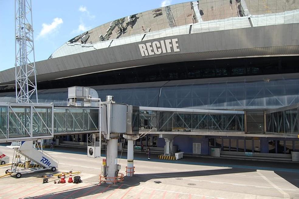 Aeroporto Internacional dos Guararapes - Gilberto Freyre, fica localizado na Zona Sul do Recife (Foto: Arquivo G1)