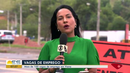 Agência do Trabalho de Viana, ES, tem mais de 100 vagas abertas