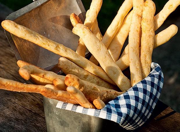 Palitos de pão de queijo (Foto: Ricardo Corrêa/ Editora Globo)