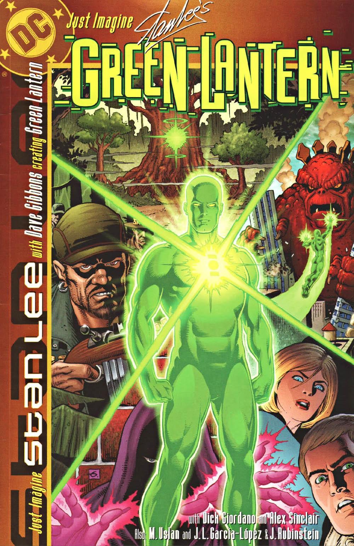 Capa da edição de Lanterna Verde da série Just Imagine, escrita por Stan Lee para a DC Comics (Foto: Divulgação)
