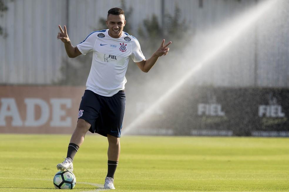 Léo Jabá foi revelado pelo Corinthians e vai defender o Vasco por empréstimo até dezembro — Foto: Daniel Augusto Jr/Ag. Corinthians