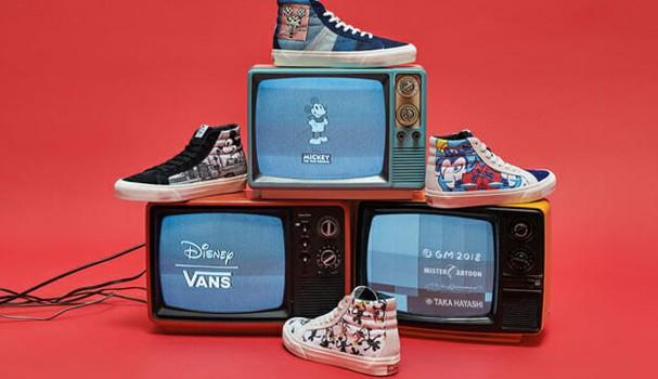Disney x Vans (Foto: Divulgação)