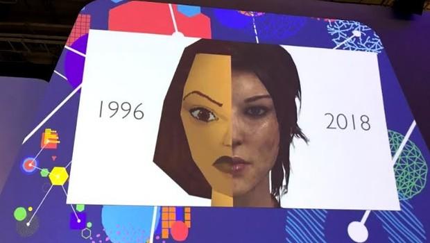 Reprodução de rosto; inteligência artificial (Foto: Patrícia Basilio)