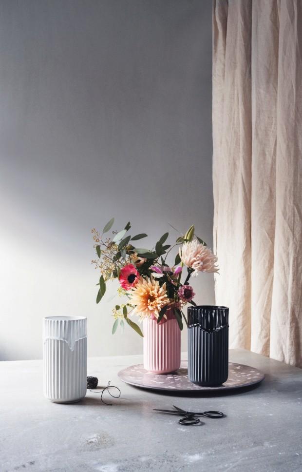 Vvasos da marca dinamarquesa Lyngby Porcelæn, do grupo Rosendahl Design (Foto: Divulgação)