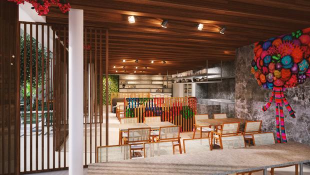 Pipo, o novo restaurante de Felipe Bronze em São Paulo (Foto: Divulgação)