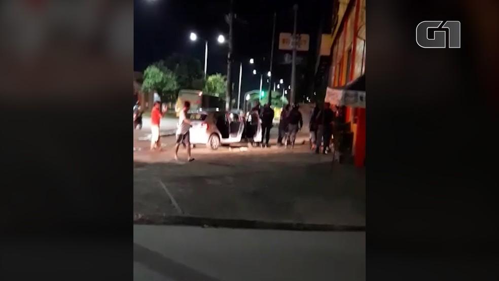 Operação foi realizada no bairro São Bernardo, na capital maranhense — Foto: Redes Sociais
