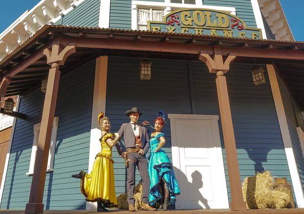 A região de Wild West está revitalizada para as férias, com novos shows e atrações (Foto: Divulgação)