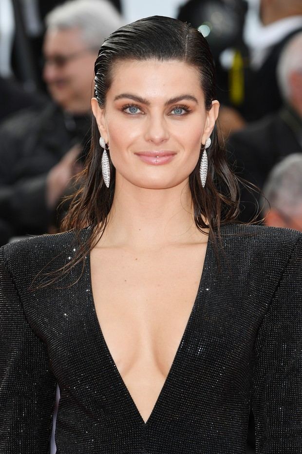 "CANNES, FRANCE - MAY 13:  Isabeli Fontana attends the screening of ""Sink Or Swim (Le Grand Bain)"" during the 71st annual Cannes Film Festival at Palais des Festivals on May 13, 2018 in Cannes, France.  (Photo by Pascal Le Segretain/Getty Images) (Foto: Getty Images)"