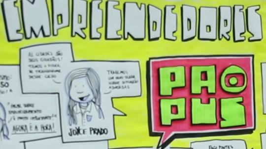 Veja o vídeo sobre a terceira edição do Papus