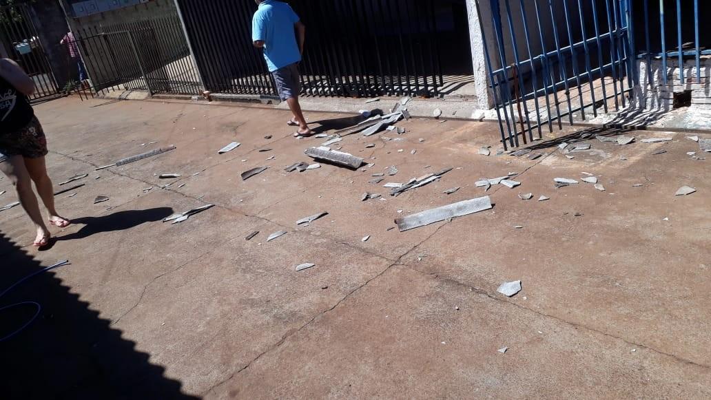 Redemoinho destelha casas em Cascavel, diz Defesa Civil