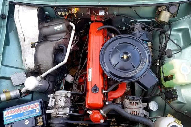 O motor 250-S foi ampliado e passou a ter 4,4 litros  (Foto: Ronaldo Noli/Reprodução)