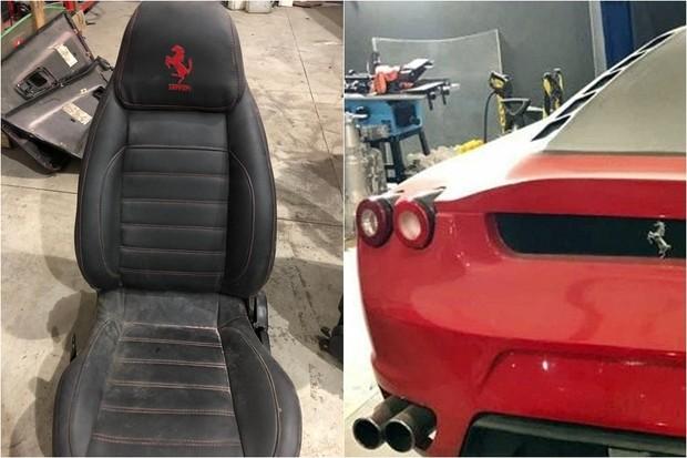 5a79eeb2c Fábrica em Santa Catarina produzia réplicas falsas de Ferrari e ...