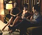 Maria Fernanda Cândido, Paolla Oliveira e Enrique Diaz em cena de 'Felizes para sempre?' | Zé Paulo Cardeal/ TV Globo