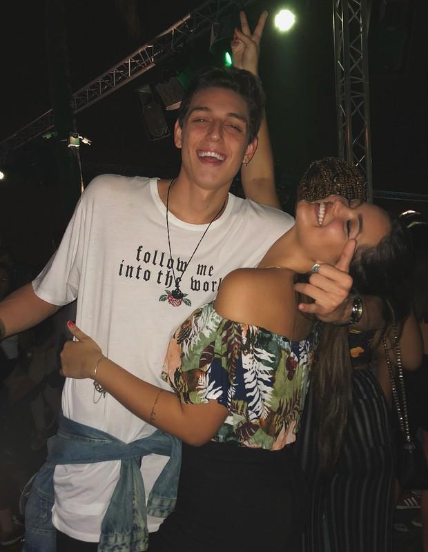 Suzanna Freitas e Gabriel Simões (Foto: Reprodução)