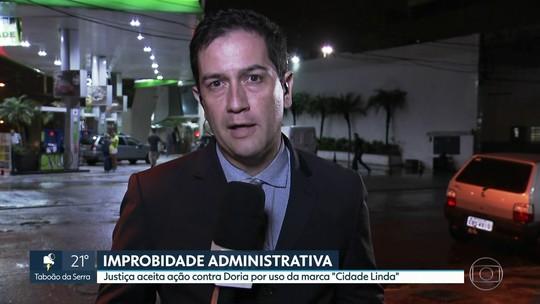 Justiça aceita ação contra Doria por uso da marca 'SP Cidade Linda'