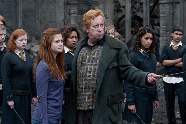 Mark Williams como Arthur Weasleyem Harry Potter e as Relíquias da Morte: Parte 2 (Foto: Divulgação)