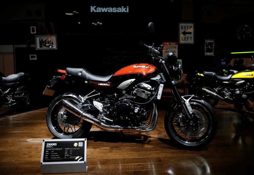 Kawasaki Z900 RS (Foto: REUTERS/Toru Hanai)