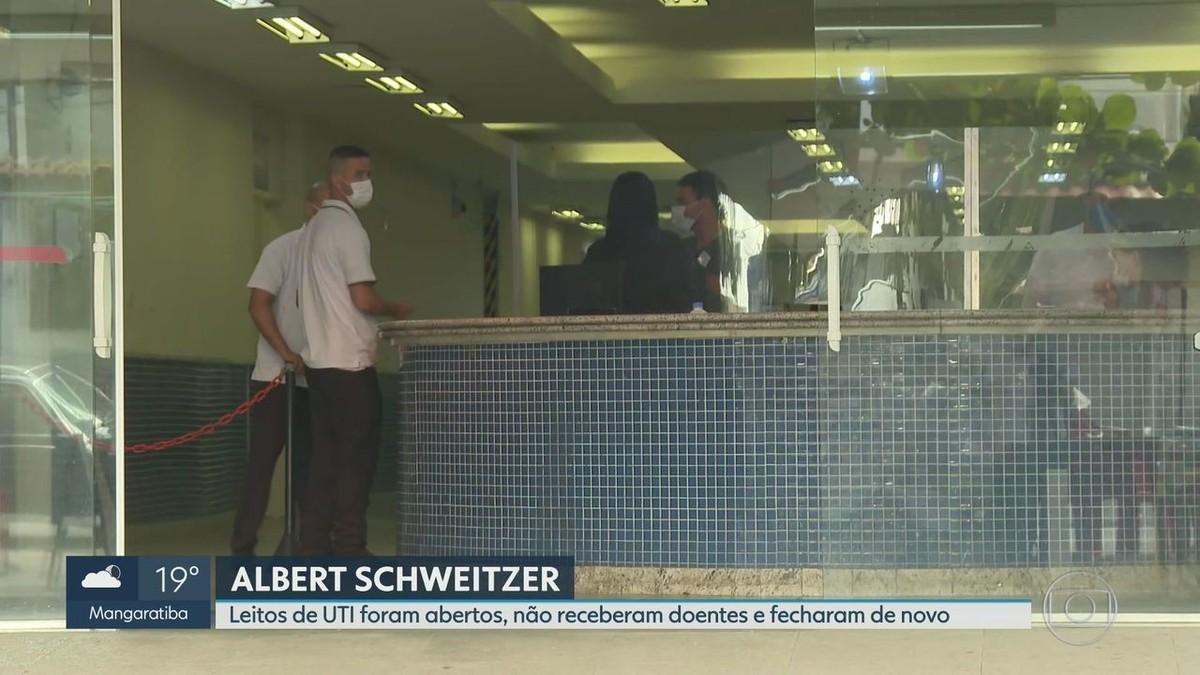Funcionários do Albert Schweitzer denunciam que leitos de UTI abertos para doentes da Covid já foram fechados