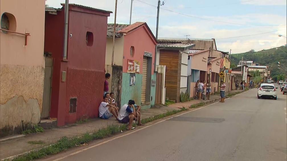 Barão de Cocais, na Região Central de Minas Gerais — Foto: Reprodução/TV Globo