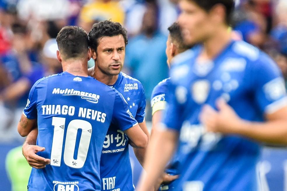 Fred e Thiago Neves cresceram com a Chegada de Abel Braga — Foto: Douglas Magno/BP Filmes