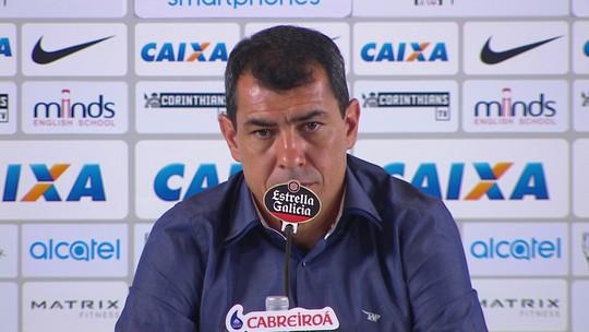 "Carille explica afastamento de Cristian e lamenta críticas: ""Foi muito infeliz"""