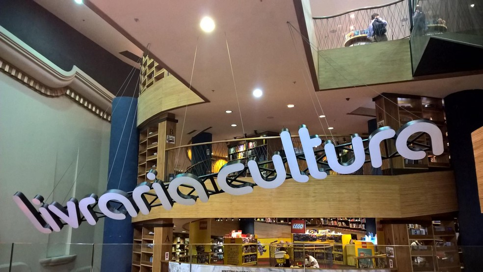 Livraria Cultura do Centro do Rio fechou as portas — Foto: Carlos Brito/G1