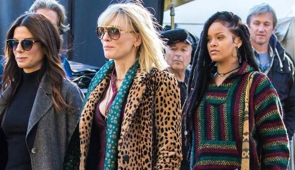 Sandra Bullock, Cate Blanchett e Rihanna em Oito Mulheres e Um Segredo (Foto: Reprodução )