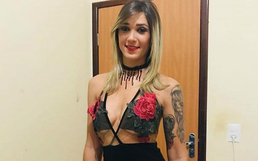 Patrícia Aline dos Santos foi encontrada morta em matagal na zona norte de Palmas (TO) (Foto: Arquivo Pessoal)