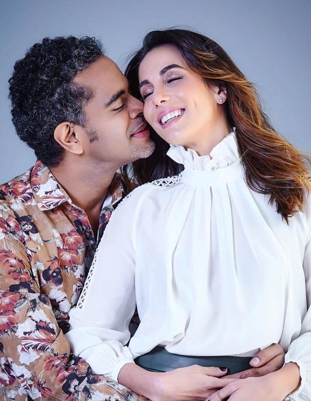 Jair Oliveira e Tania Khalill (Foto: Gustavo Arrais)