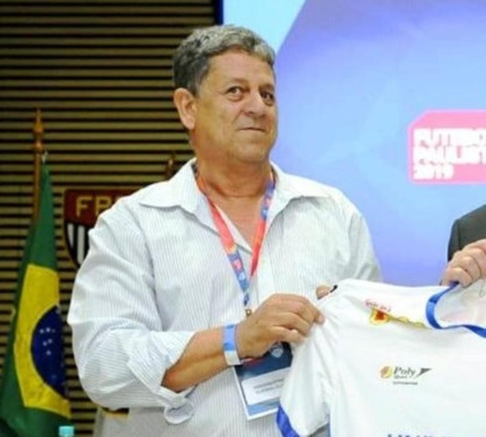 Presidente do Fernandópolis Futebol Clube foi preso em Operação da PF contra fraude no Fies — Foto: Federação Paulista de Futebol/Divulgação