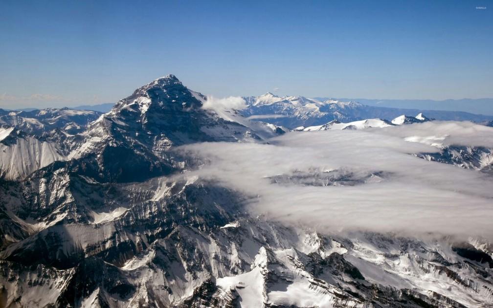 Monte Aconcágua, o maior das Américas (Foto: Divulgação)