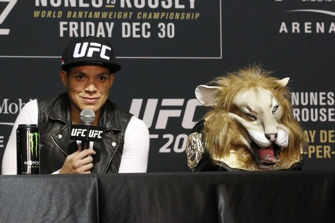 Amanda Nunes; UFC 207 (Foto: Evelyn Rodrigues)