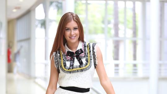Marina Ruy Barbosa curte Semana de Moda de Milão