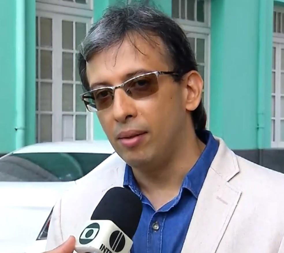 Marcos Brandão volta a chefiar o Itep  — Foto: Inter TV Cabugi/Reprodução
