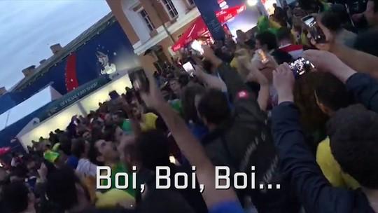 Brasileiros provocam argentinos com versão de cantiga infantil