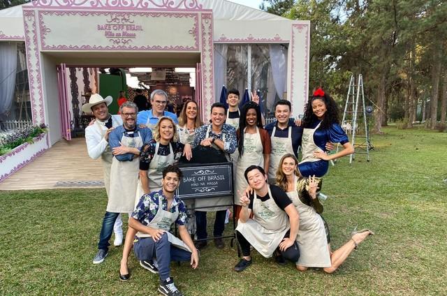 Participantes do 'Bake off Brasil - Celebridades' (Foto: Arquivo pessoal)