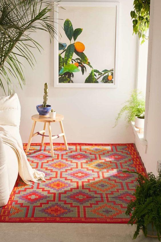 Apartamento alugado (Foto: reprodução / Pinterest)