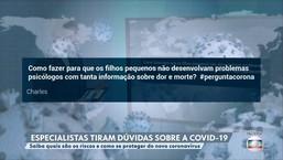 Psiquiatra recomenda que crianças sejam protegidas da sobrecarga de informação da Covid-19