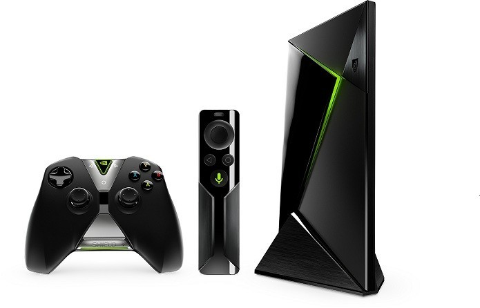 Shield TV é media center voltada para games (Foto: Divulgação/Nvidia)