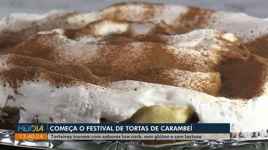 Festival de Tortas de Carambeí tem opções low carb, sem glúten e sem lactose