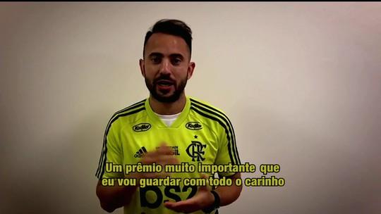 Everton Ribeiro, do Flamengo, é eleito o craque do Campeonato Carioca