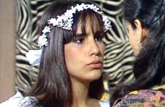A atriz foi Marisa em 'Dancin' Days', filha de Júlia (Sônia Braga) (Foto: Divulgação/TV Globo)