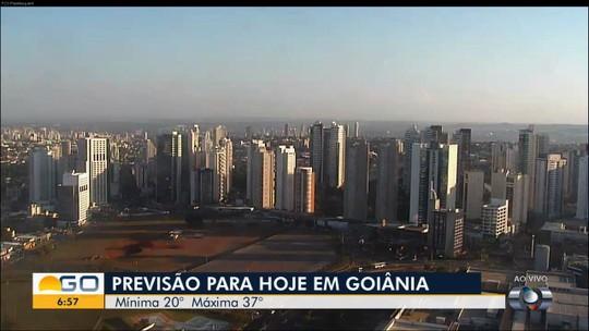 Goiânia tem dia mais quente do ano com 38,5°C, e 'calorão' deve continuar, diz Inmet