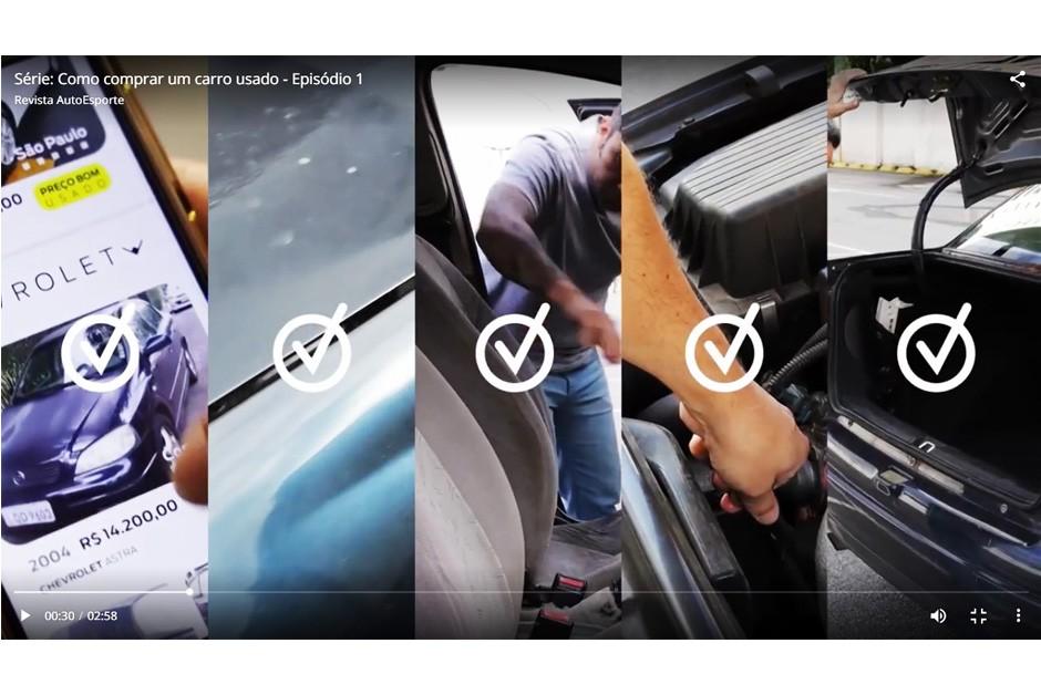 Websérie com dicas para comprar carros usados (Foto: Autoesporte)