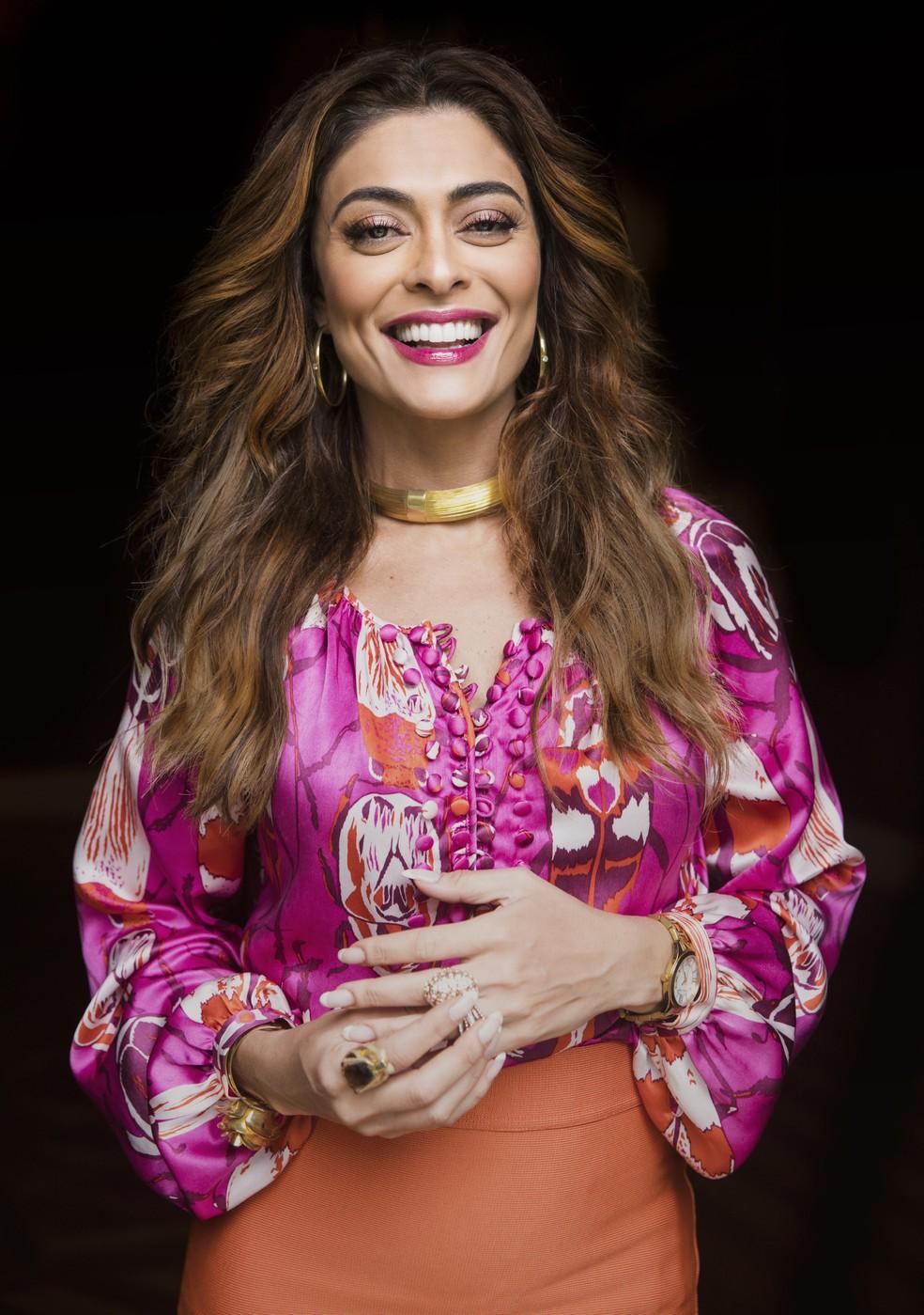 Juliana Paes revela os planos com o fim de A 'Dona do Pedaço':  — Foto: Victor Pollak/Globo