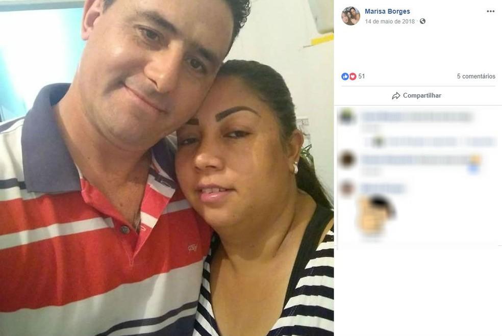 Mulher foi morta pelo companheiro em São Carlos — Foto: Rede social