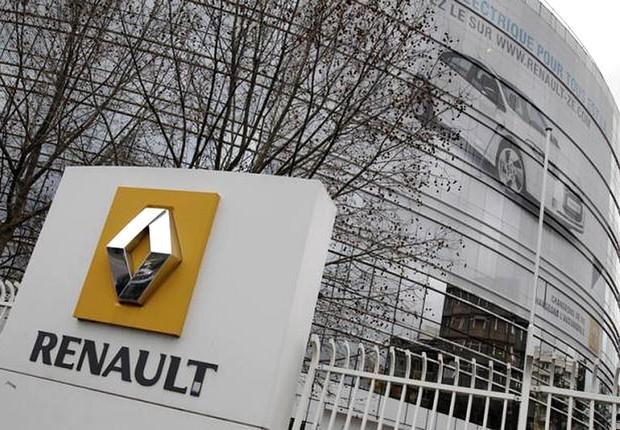 Sede da montadora francesa Renault em Boulogne-Billancourt, próximo a Paris (Foto: Jacky Naegelen/REUTERS)