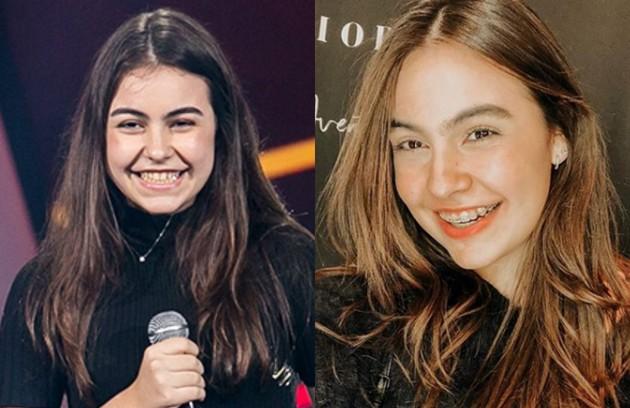 Aos 13 anos, Luiza Prochet deixou o programa nas quartas de final. Hoje cantora, compositora e atriz, ela mora em Miami (Foto: Reprodução)