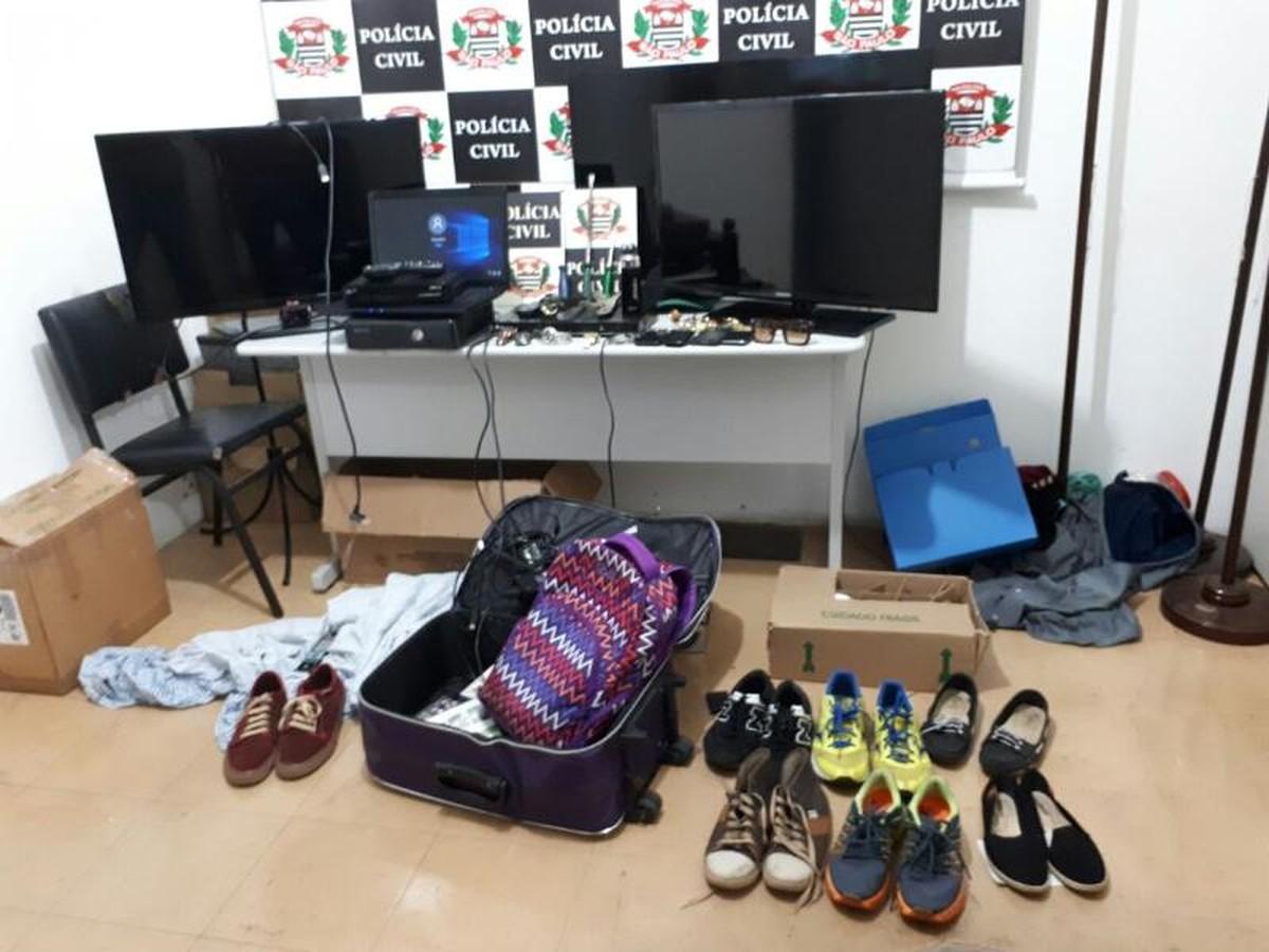 Dupla é presa suspeita de praticar vários furtos a casas em Rio Preto